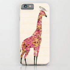 Pink Giraffe iPhone 6s Slim Case