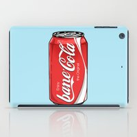 bane iPad Cases featuring Bane Cola by Jesus Bane