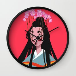 Doll Wall Clock