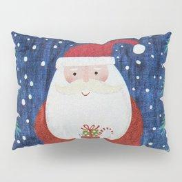 Santa with Stocking Pillow Sham