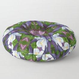 Bartram's Blossom Floor Pillow