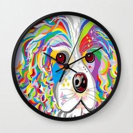 Spaniel Wall Clock