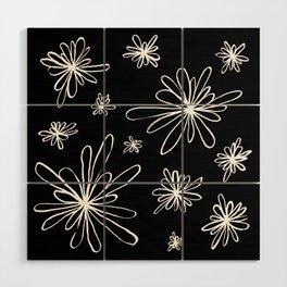 Energy Flowers Reverse Wood Wall Art