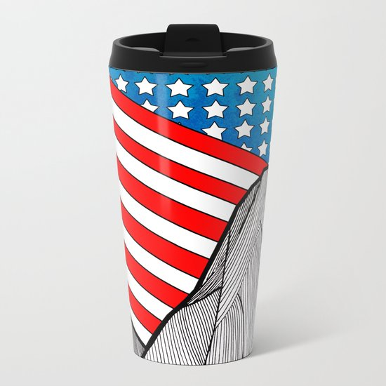 American Mounts Metal Travel Mug