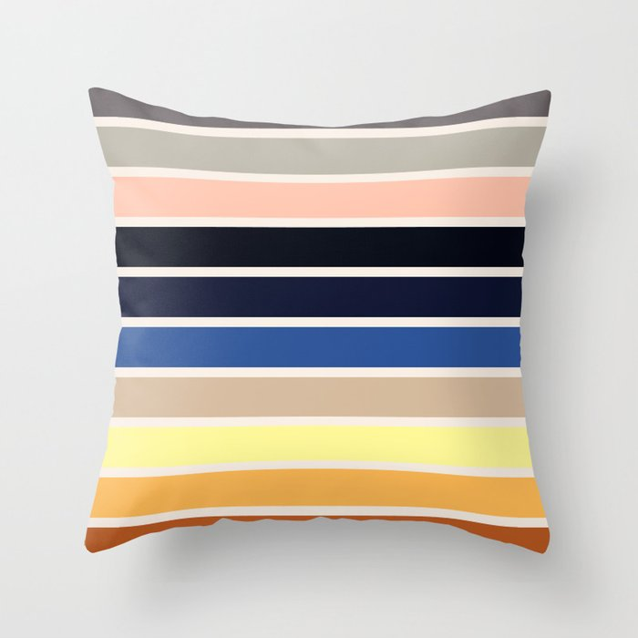 The colors of - Howl's moving castle Throw Pillow