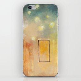 bird and open window iPhone Skin