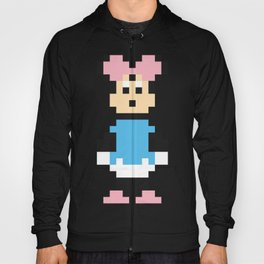 Minnie Mouse Pixel Character Hoody