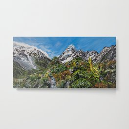 Mt Cook, New Zealand Metal Print