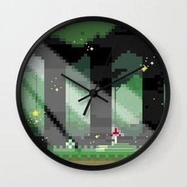 Zelda: Lost Woods Wall Clock