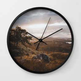 Wester Ross - Landscape and Nature Photography Wall Clock