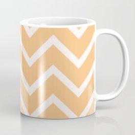 Zig Zag Yellow Summer Pattern Coffee Mug
