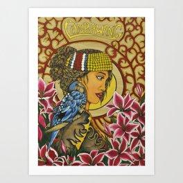 The Lunbawang girl Art Print