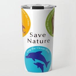 Save Nature_02 Travel Mug