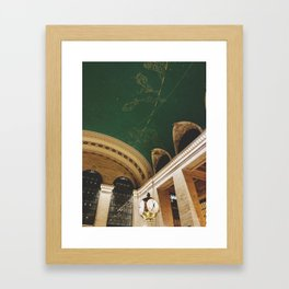 The time at Grand Central Framed Art Print