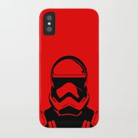 trooper iPhone & iPod Cases featuring Trooper  by Rabassa