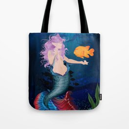 Pacific Mermaid Tote Bag