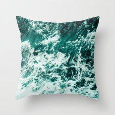 Wild sea II Throw Pillow