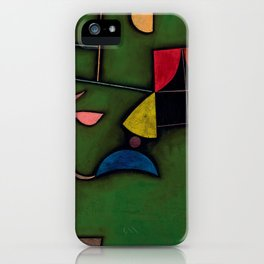 "Paul Klee ""Pflanze und Fenster Stilleben (Still life with Plant and Window)"" iPhone Case"