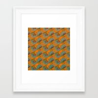 art deco Framed Art Prints featuring Art Deco by Mimi