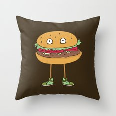 Food w/ Legs - No. 2 Throw Pillow