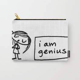 i am genius Carry-All Pouch