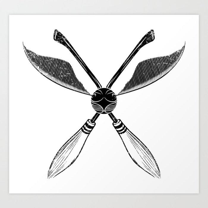 Quidditch Kunstdrucke