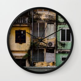 Hanoi houses Wall Clock