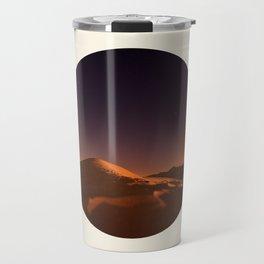 Desert Sunset & Stars In The Sky Travel Mug