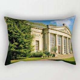 Temple Greenhouse (V2 Texture) Rectangular Pillow