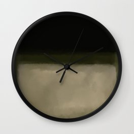 Rothko Inspired #5 Wall Clock