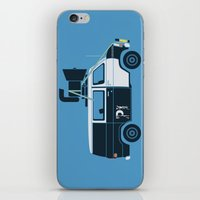 blues brothers iPhone & iPod Skins featuring The Blues Brothers' Van by Brandon Ortwein