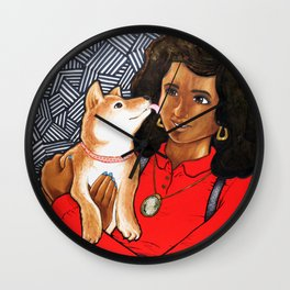 Smooch Wall Clock