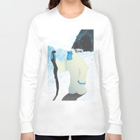 yeti Long Sleeve T-shirts featuring Yeti by twelve:45