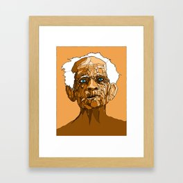 Weary Framed Art Print