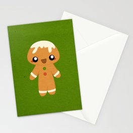 Christmas Card - Gingerbread Kid Stationery Cards