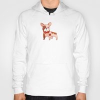 frenchie Hoodies featuring Frenchie by 52 Dogs