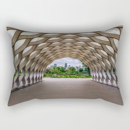 Chicago's Honeycomb in Lincoln Park Rectangular Pillow