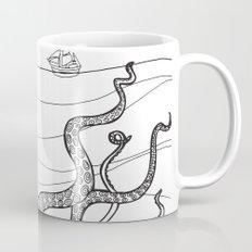 Kranken from the Bestiary Coloring Book Coffee Mug