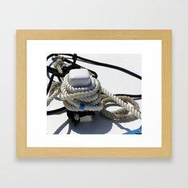 ropes Framed Art Print