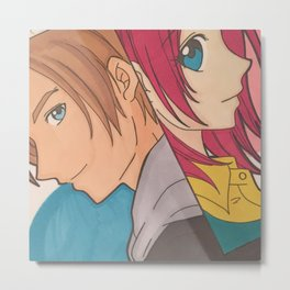Leon and Claire ( Cleon) Metal Print