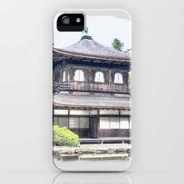 ginkaku ji temple japan iPhone Case