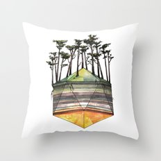 Biome Throw Pillow