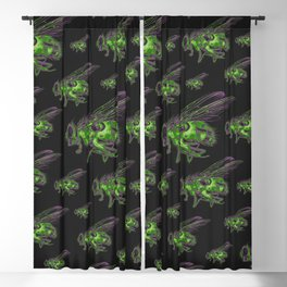 Housefly GHOST GREEN Blackout Curtain