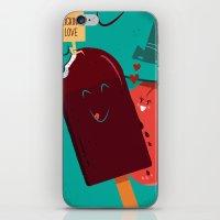 :::Licking Love::: iPhone & iPod Skin