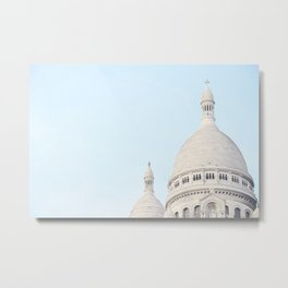 Blue Paris Metal Print