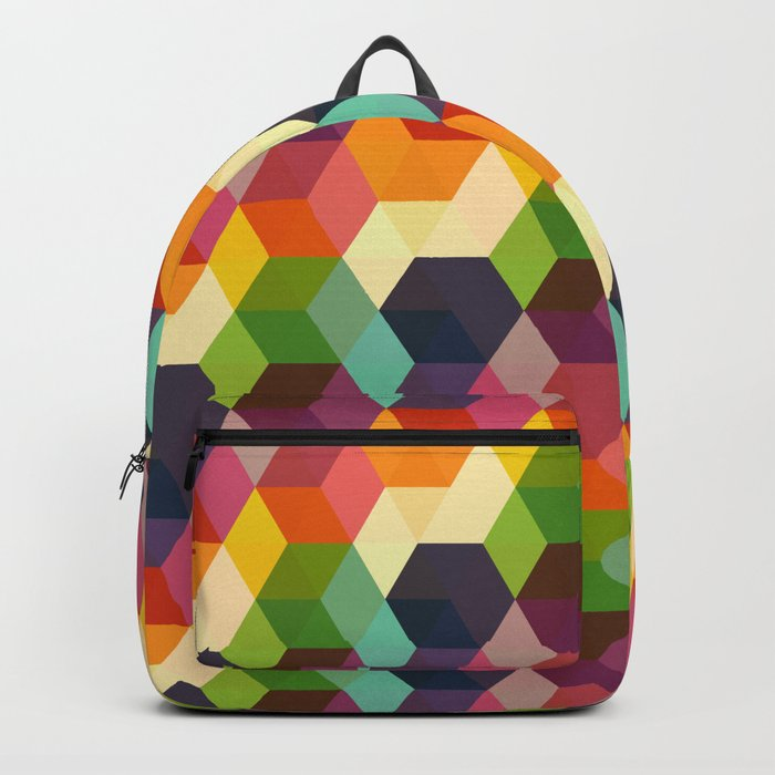 Retro Hexagonzo Backpack