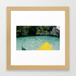 Island Hopping Framed Art Print