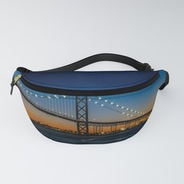 The Ambassador Bridge Fanny Pack