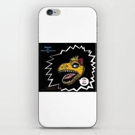 """SHMUT, The Valley-Girl Dinosaur: sez """"Like, Grr, Man iPhone Skin"""
