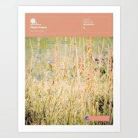 fleet foxes Art Prints featuring The Visual Mixtape 2010 | Fleet Foxes | 05 / 25 by Joy Stain